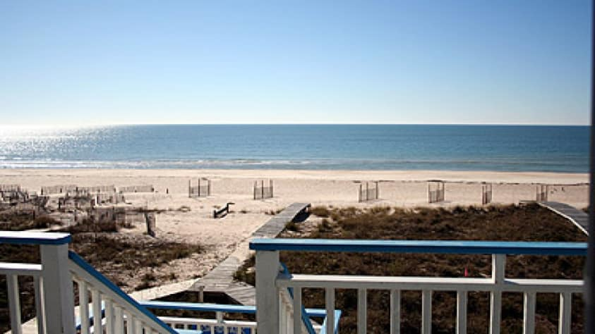 Beachfront House! Island central location - St George Island