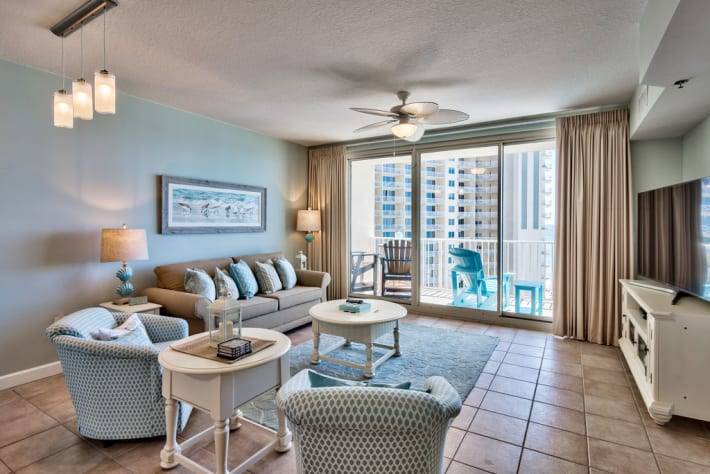 Enjoy the views from any sitting area in this  great condo