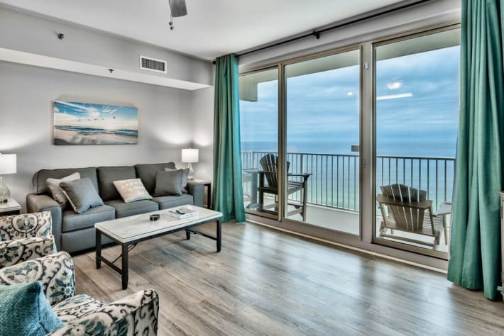 All new furniture and decor throughout the entire condo. Great views from each seat!