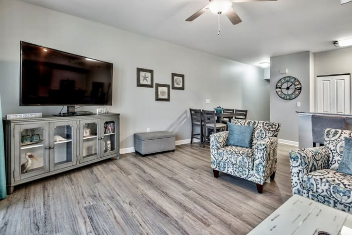 Open concept layout with plenty of seating for everyone!