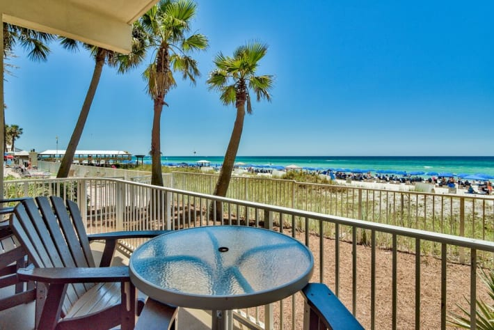 Perfect views and just steps from the beach!