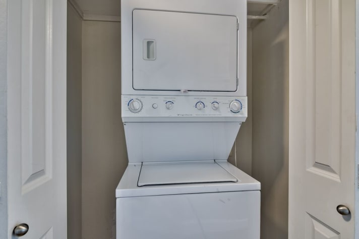 Washer and Dryer in unit for your convenience