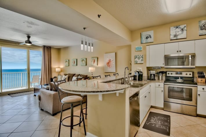 Step into this gorgeous, oceanfront unit with NEW kitchen!