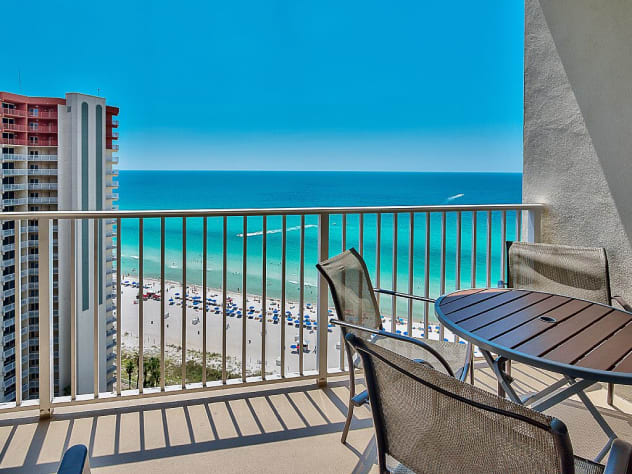 Amazing views off your private balcony!