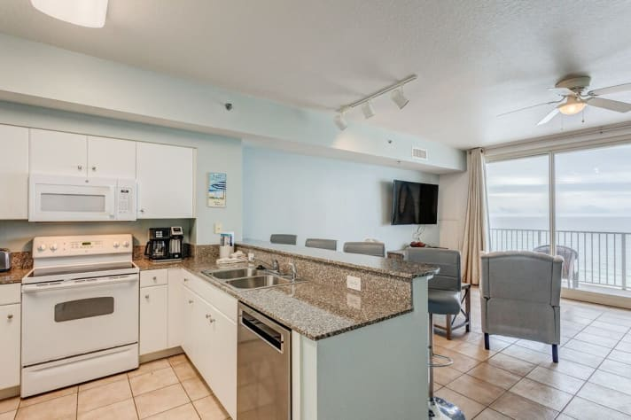 Updated Kitchen with granite counters