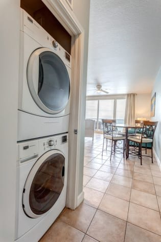 FULL- Sized Washer and Dryer in unit