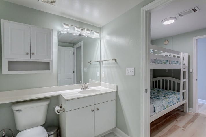 Bathroom attached to Bunk Room