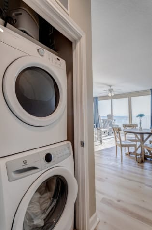 FULL- sized Washer and Dryer in Unit!