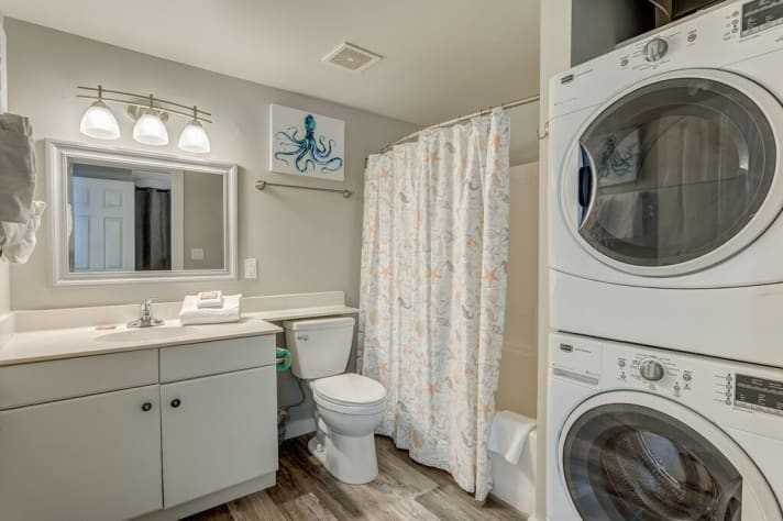 Full- sized washer and dryer