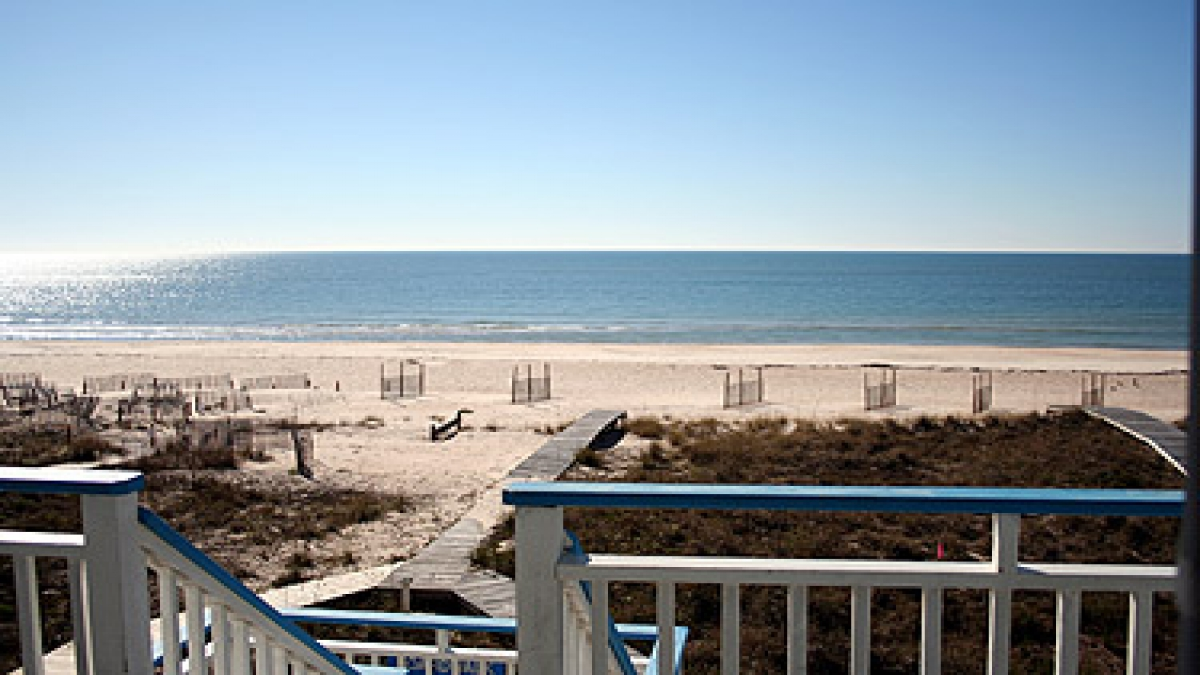 Beachfront House! Island central location  | {{City}}, {{State}} Vacation Rental | #1