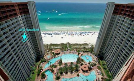 Luxury Condo, 14th floor 1BR+1bunk BR, 2BA - Thumbnail Image #1