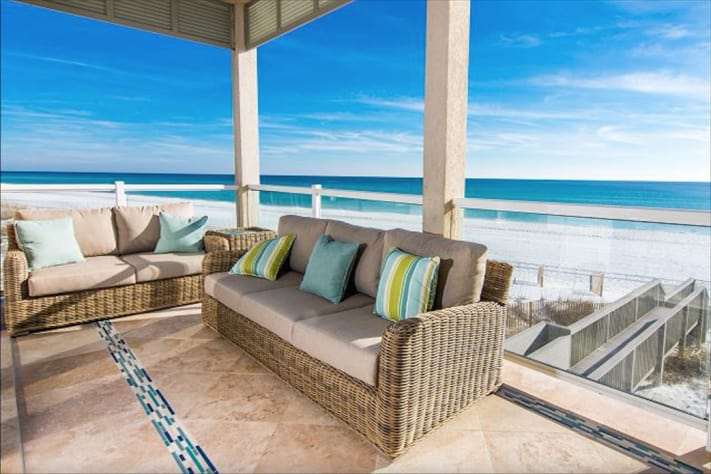 Beach house destin area vacation rental townhome