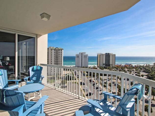 St lucia 1106 silver shells destin area fl vacation - Destin florida 4 bedroom condo rentals ...