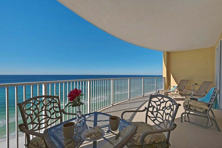 Spectacular panoramic view huge balcony panama city - 20 bedroom vacation rentals florida ...