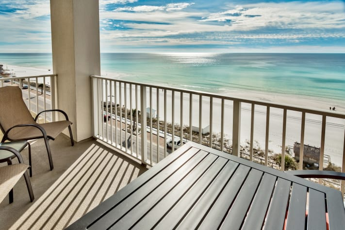 Majestic sun gulf front 1 bedroom condo destin area fl - 1 bedroom condos in destin fl on the beach ...