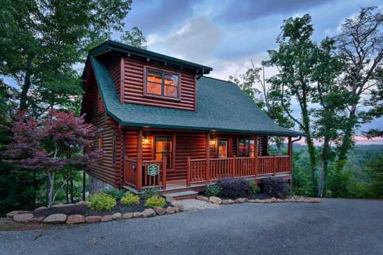 Covered Bridge Resort - Pigeon Forge, TN Cabin Rental (1)