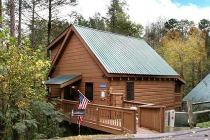 Baskins Creek Falls  - Gatlinburg, TN Cabin Rental (1)