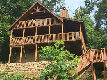 Charmant Sheu0027s A Treasure Among The Tree Tops, Treetop Treasure. Gatlinburg, Tennessee  Cabin ...