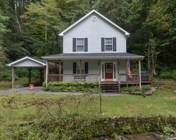 Baskins Creek Falls  - Gatlinburg, TN House Rental (1)