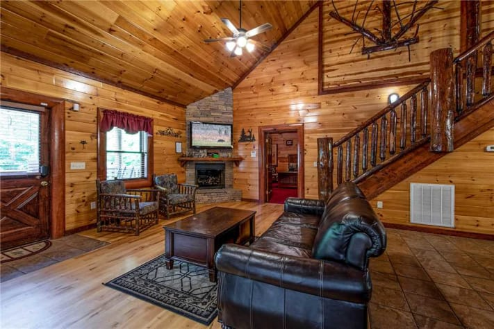 Cosby, Tennessee Cabin Rental - Gallery Image #2