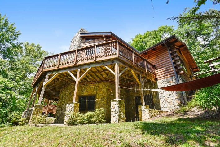 Clyde, North Carolina Cabin Rental - Gallery Image #14