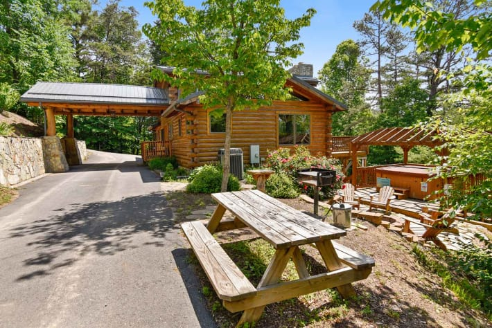 Clyde, North Carolina Cabin Rental - Gallery Image #22