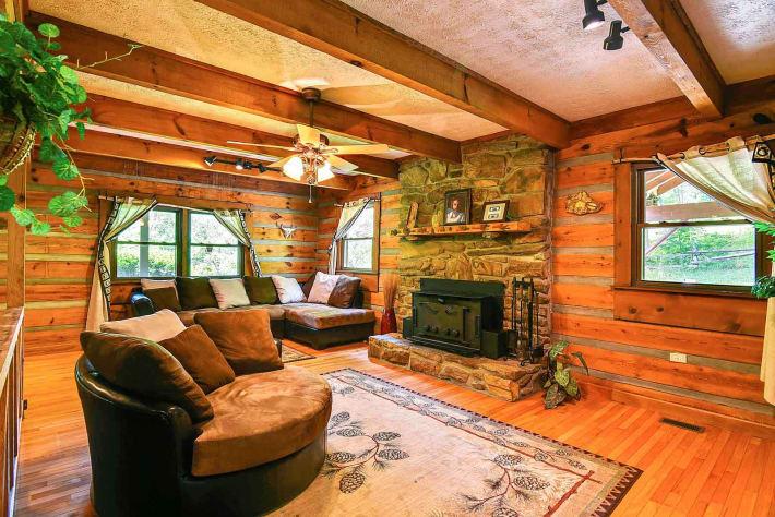 Clyde, North Carolina Cabin Rental - Gallery Image #5