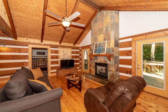 Townsend, Tennessee Cabin Rental - Gallery Image #6