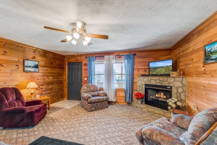 Cosby, Tennessee Cabin Rental - Gallery Image #12