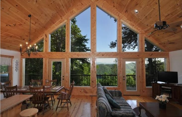 Nantahala Lake, North Carolina Chalet Rental - Gallery Image #1