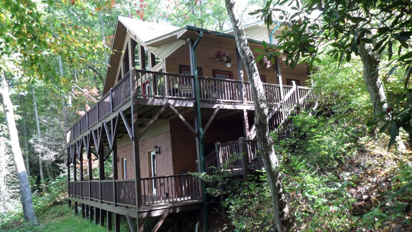 Nantahala Lake, North Carolina Chalet Rental - Gallery Image #3