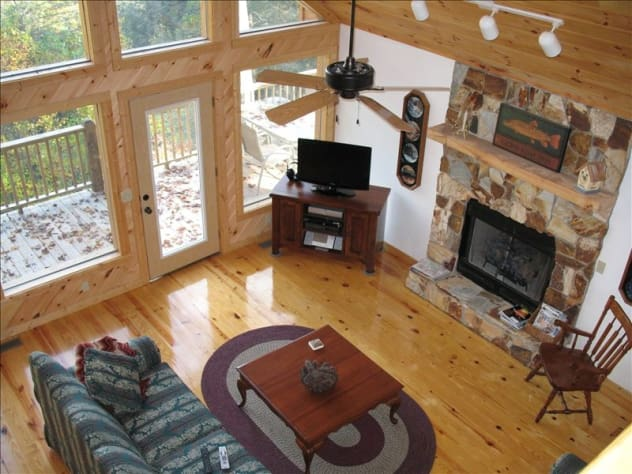 Nantahala Lake, North Carolina Chalet Rental - Gallery Image #9