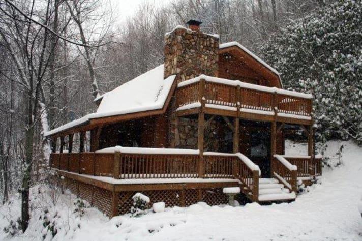 Maggie Valley, North Carolina Cabin Rental - Gallery Image #23