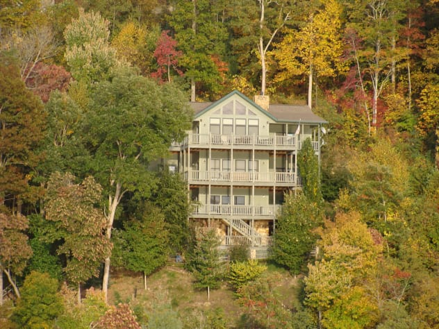Nantahala Lake, North Carolina House Rental - Gallery Image #1