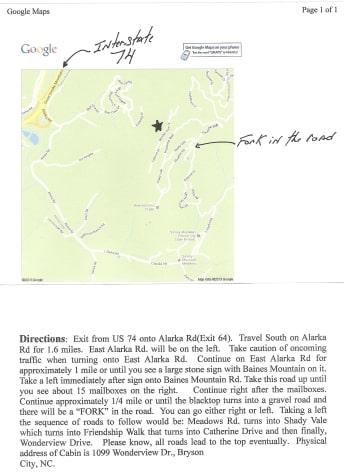 Nantahala Lake, North Carolina Cabin Rental - Gallery Image #4