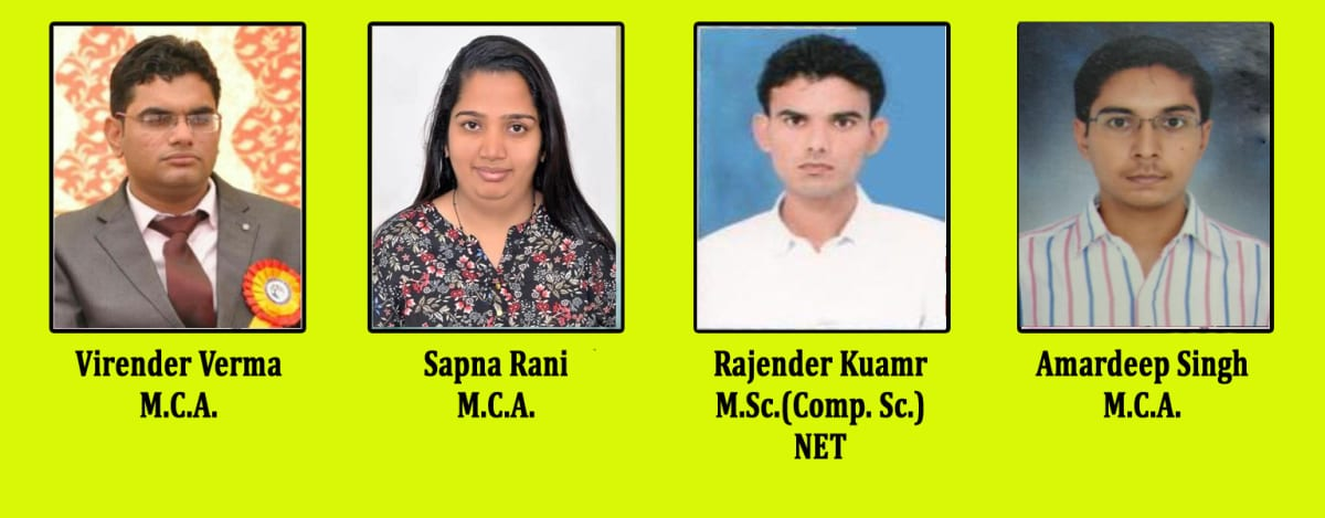 B.C.A. Staff Members
