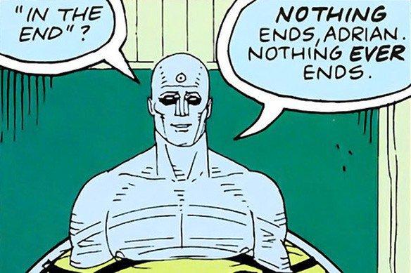 Dr Manhattan, Watchmen #12