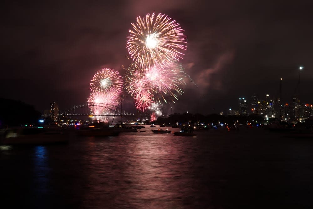 New Year Eve Firework in Sydney