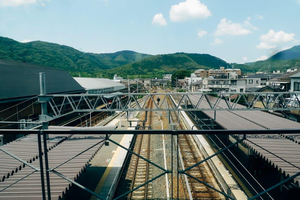 Arashiyama JR train station