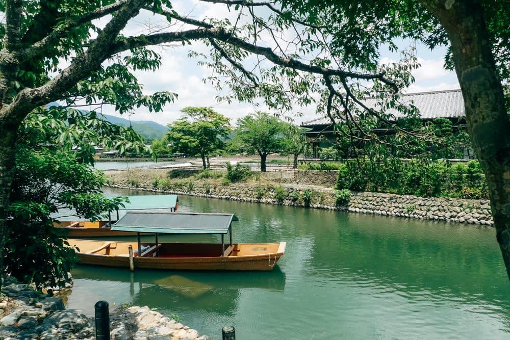 Hozu river in Arashiyama