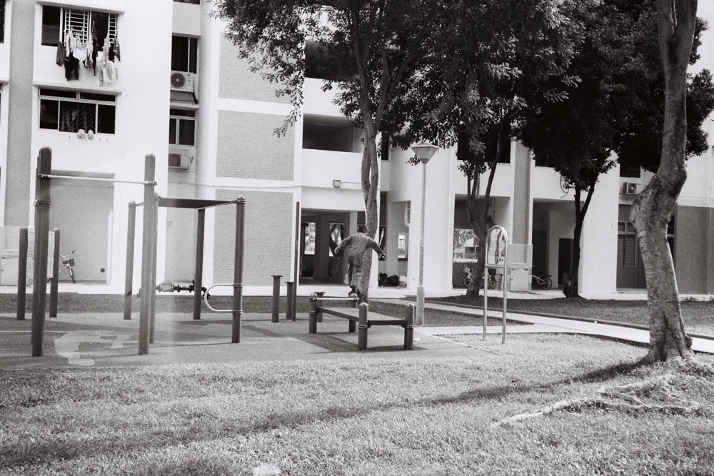 kid having fun at playground