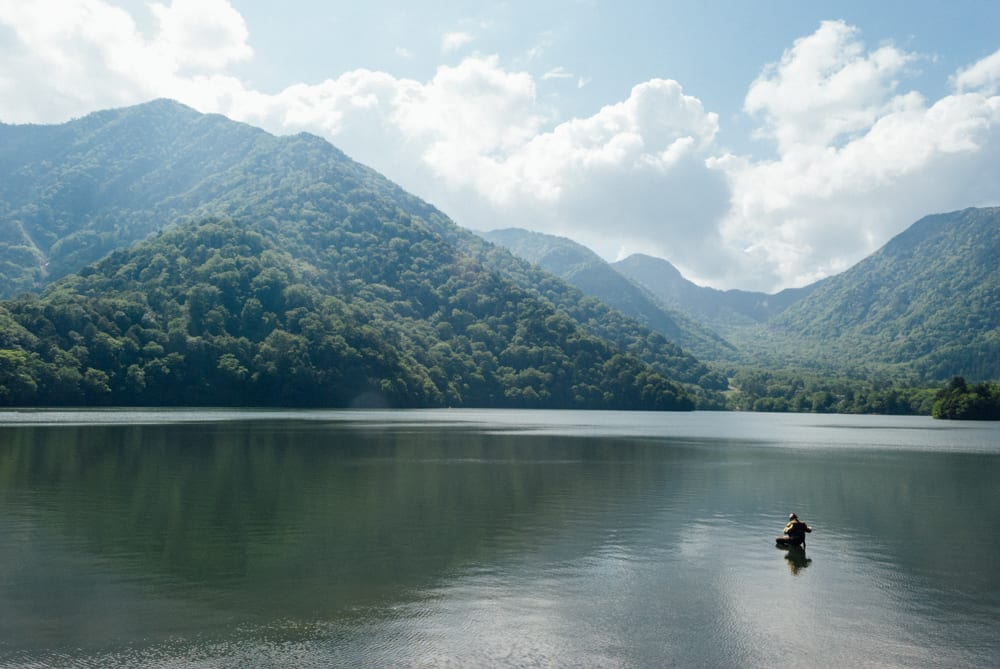 One of my favourite shots in Nikko. I saw many elderly people in Japan participate in interesting hobbies such as fishing, photography, trekking, etc.