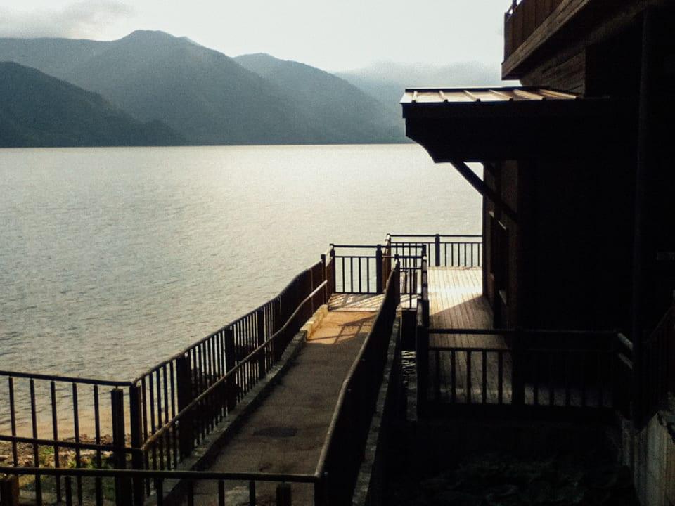 Lake chuzenji house nikko japan