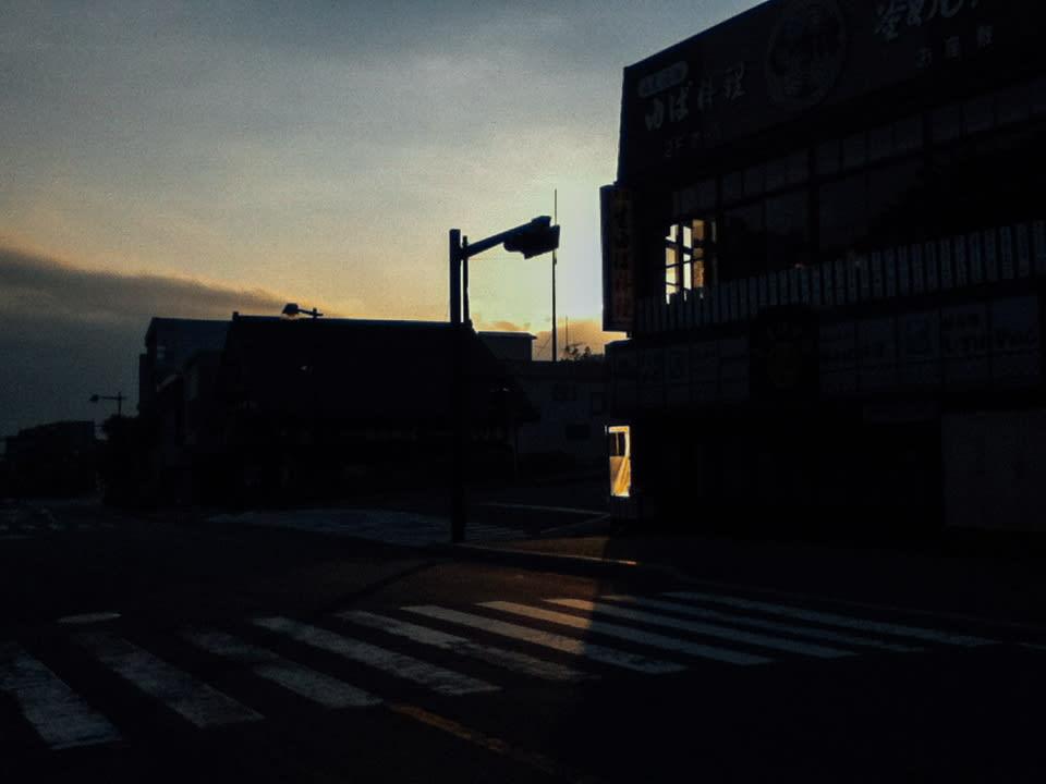 dying light at crossing nikko japan