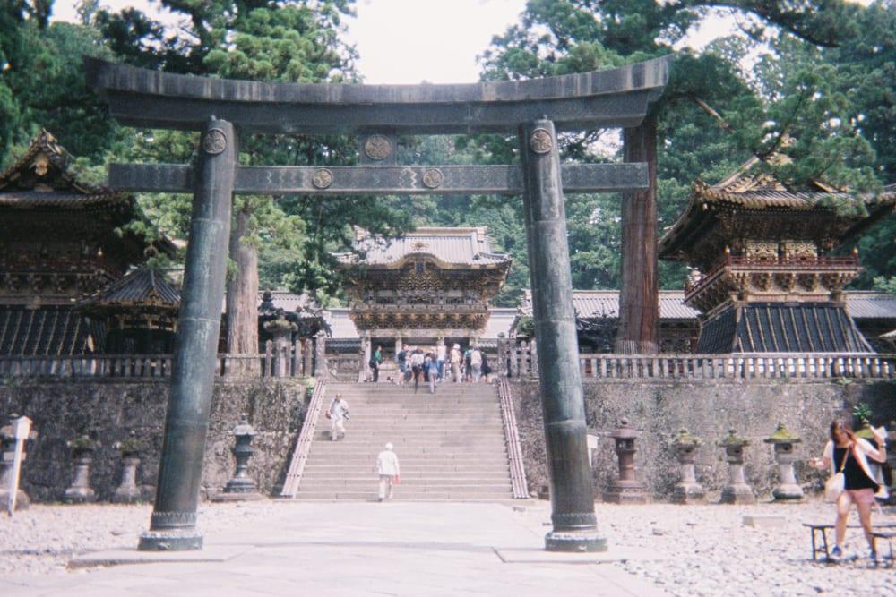 shrine gate nikko japan