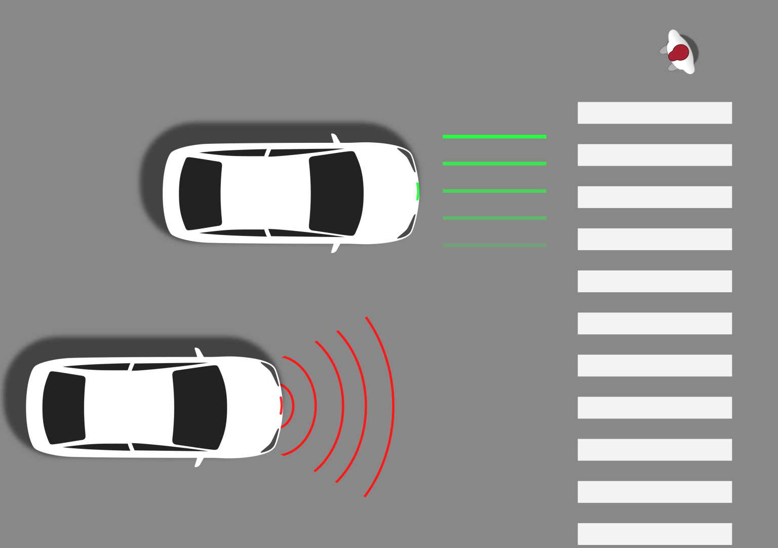 Designing for trust between autonomous cars and human