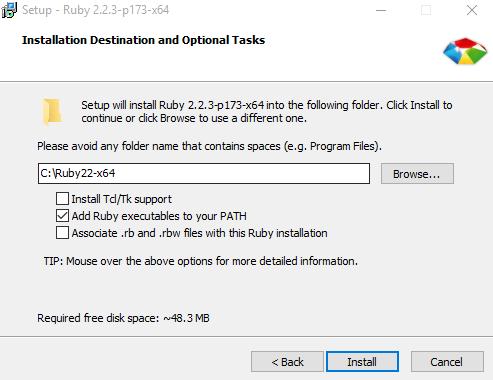 Ruby Install