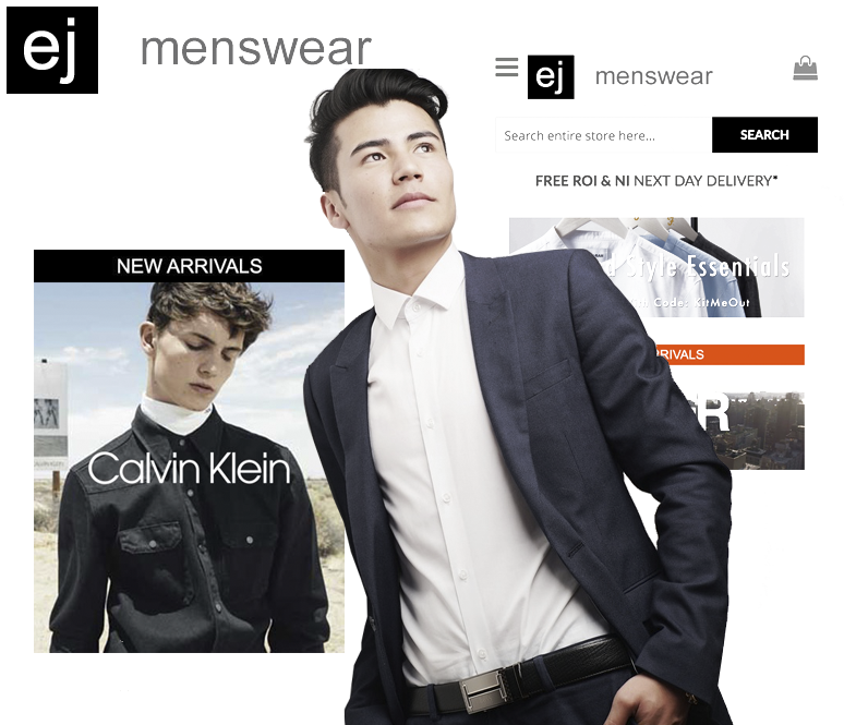 ej menwear magento developers dublin ireland