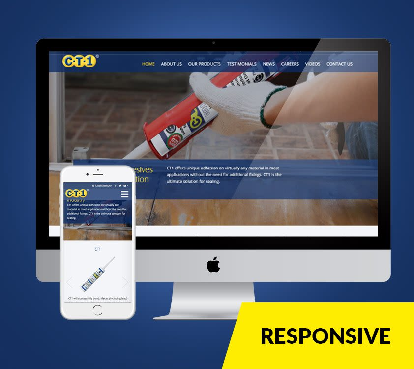 ct1 responsive web design dublin