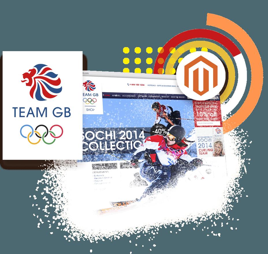 Team GB Magento 2 Digital Marketing Ireland